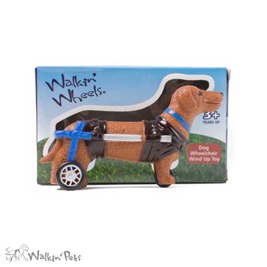 Wheelchair Wind Up Toy